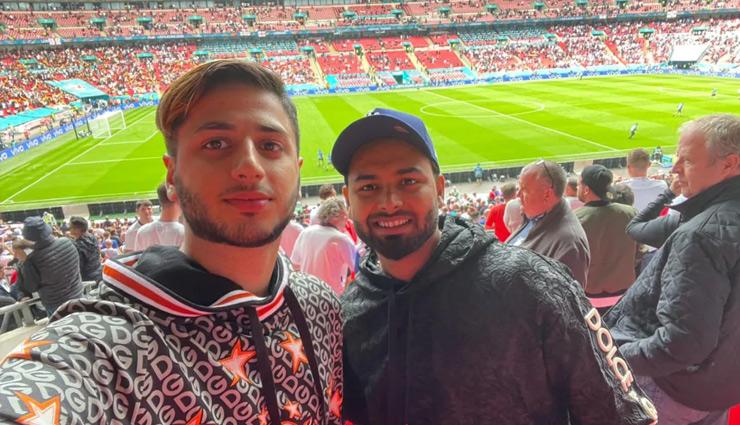 इंग्लैंड दौरा : पंत हुए कोरोना पॉजिटिव, स्टेडियम में ले रहे थे यूरो कप का मजा, दूसरे भारतीय का खुलासा नहीं