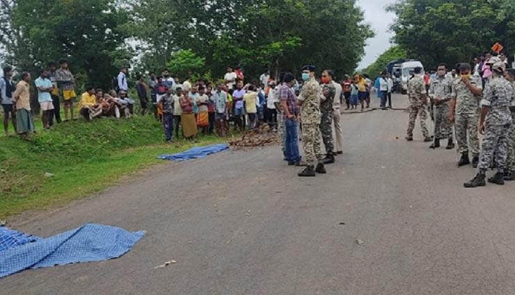 छत्तीसगढ़ : ट्रक से कुचलकर 4 छात्रों सहित 5 की मौत, निकले थे सभी मॉर्निंग वॉक पर, ग्रामीणों ने की सड़क जाम