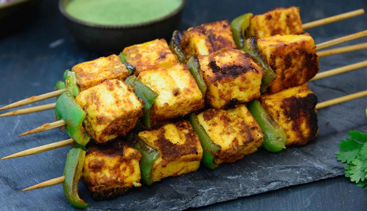 Recipe- Smoky Flavored Achari Paneer Tikka