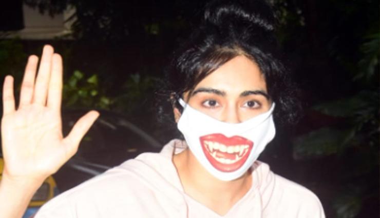 ड्रैकुला बनकर जब मुंबई की सड़कों पर निकली अदा शर्मा... वायरल हुई Photos