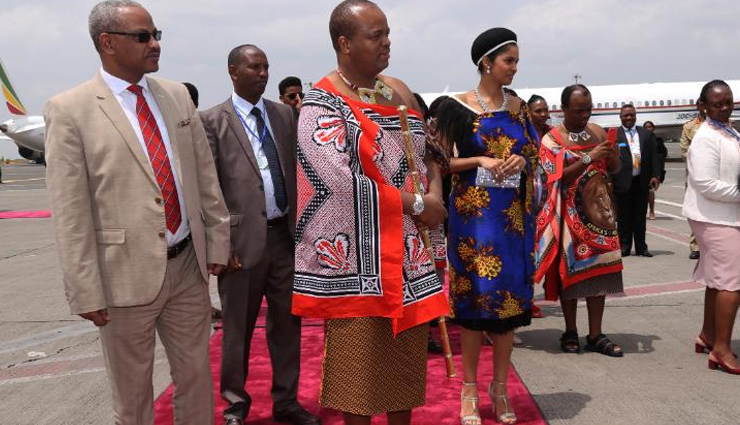 african king has 15 wives,mswati iii,king of swaziland,weird news