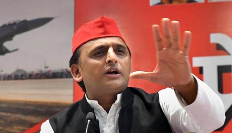 PM मोदी पर अखिलेश का हमला, कहा - अगर सपा-बसपा गठबंधन 'महामिलावट' तो 38 पार्टियों का भाजपा नीत गठबंधन क्या?