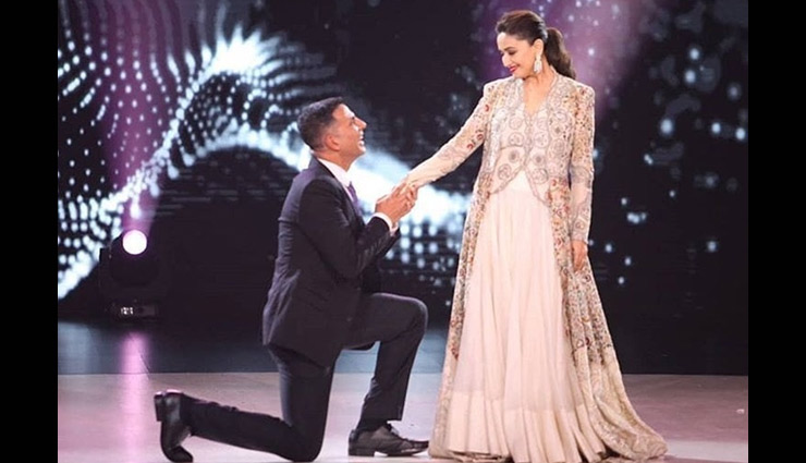 Akshay Kumar, Madhuri Dixit recreate 'Ab Tere Dil Mein' from 'Aarzoo'