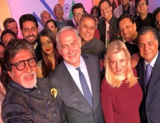 अमिताभ संग इजरायली पीएम की सेल्फी, कैद हो गए दो पूर्व प्रेमी, देखिए!!
