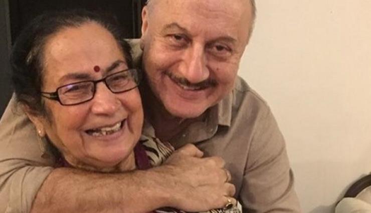 Anupam Kher's mother calls Manmohan Singh 'bechara'