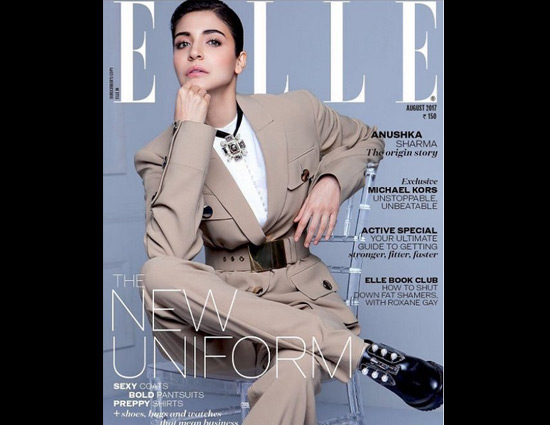 Anushka Sharma on Elle August Cover Page is Not a Normal Issue