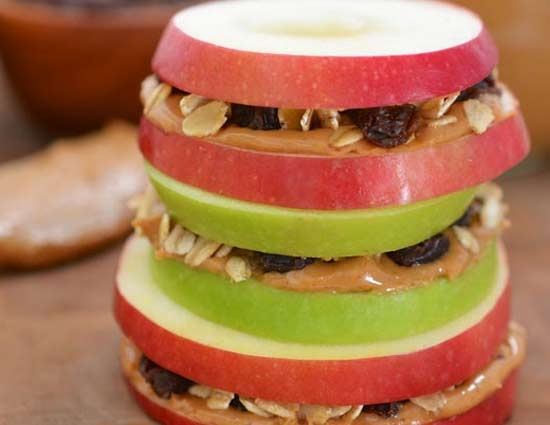 Make Diwali Meets Healthy With Apple Sandwiches