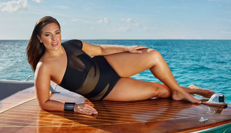 PICS- Plus-size model Ashley Graham redefines maternity with nude selfie