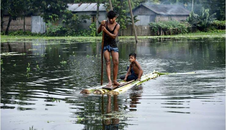 असम के 33 में से 30 जिलों में बाढ़, 43 लाख लोग हुए प्रभावित, 90 फीसदी तक जलमग्न हुआ काजीरंगा नेशनल पार्क