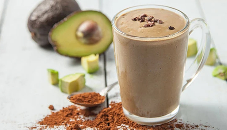 avocado chocolate smoothie,avocado chocolate smoothie recipe,avocado smoothie,hunger struck,food