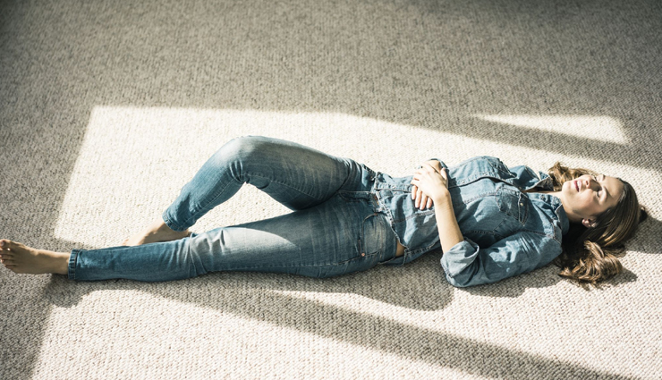 Here are Some Benefits of Laying on Back on Floor