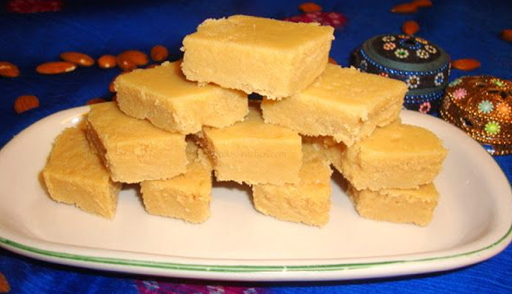 badam mysore paak,mysore paak recipe,sweets recipe,dessert recipe