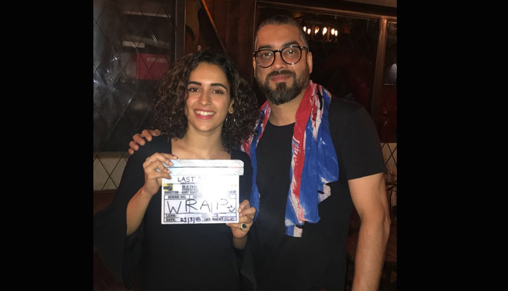 Ayushmann Khurrana and Sanya Malhotra Wraps Shoot of 'Badhai Ho'