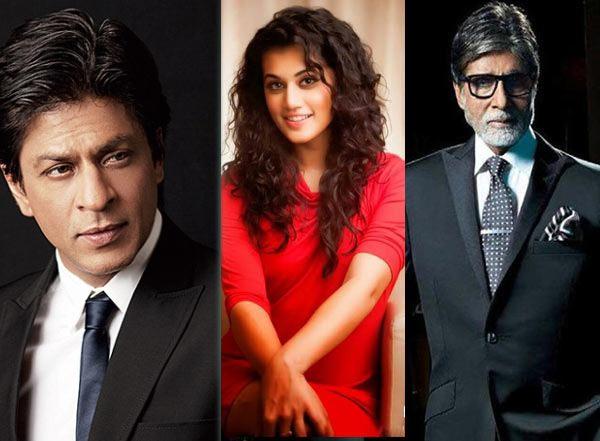 bollywood,amitabh bachchan,Shah Rukh Khan,badla,taapsee pannu ,बॉलीवुड,अमिताभ बच्चन,शाहरुख़ खान,तापसी पन्नू,बदला