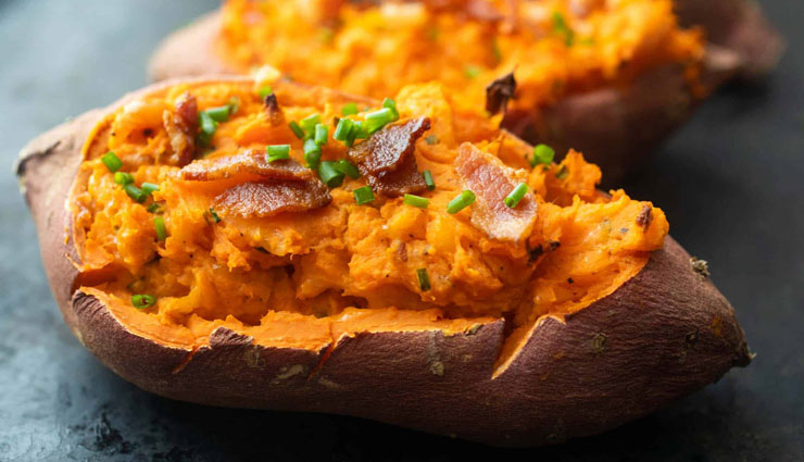 Recipe- Perfect For Evening Snack are Baked Sweet Potatoes