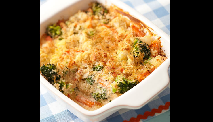 Recipe- Easy To Make Baked Veg at Home