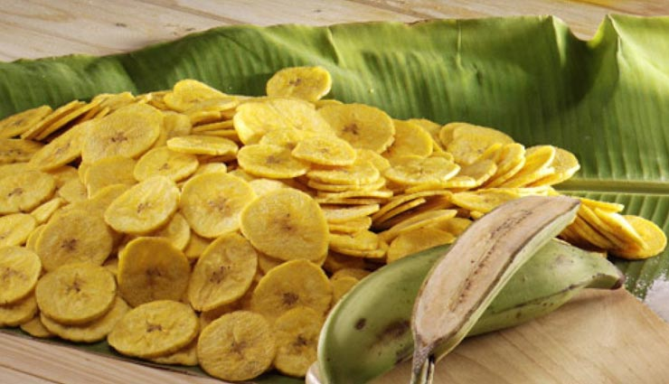 सावन स्पेशल : व्रत में बेहतरीन स्नैक्स हैं केले के चिप्स #Recipe