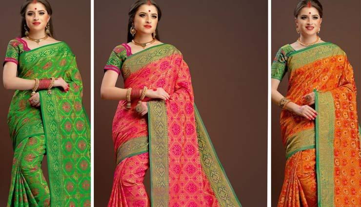 banarsi saree looks,banarsi saree fashion,fashion tips,fashion trends,fashion tip,banrasi sarees royal look ,बनारसी साड़ी, फैशन टिप्स