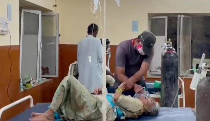 बाड़मेर : कोरोना ने खत्म किया रिश्तों का मोल, बीमार मां को अस्पताल में छोड़ चले गए बेटे, फॉर्म पर लिखा दामाद का नंबर, हुई मौत