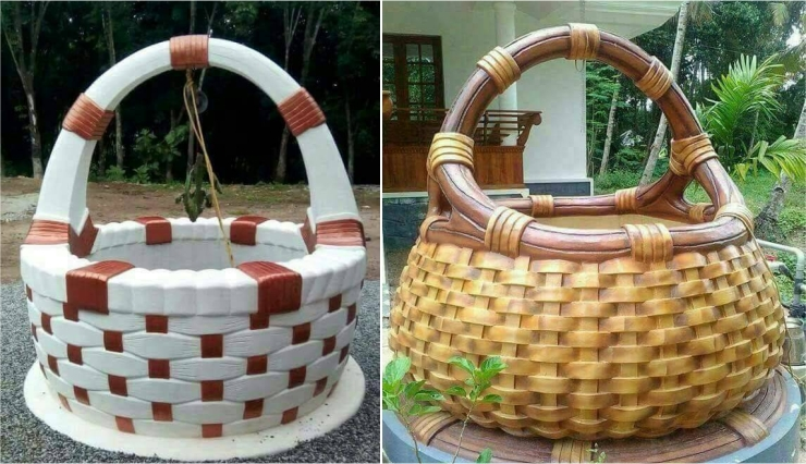 fancy well made by kerala village peoples