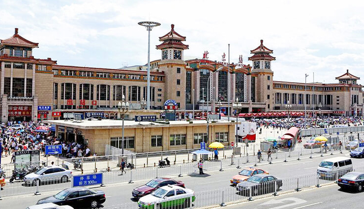 busiest chinese railway stations,chinese railway stations,western beijing railway station,zhengzhou railway station,beijing railway station,guangzhou railway station,xian railway station,shanghai railway station,tianjin railway station,chengdu railway station,harbin railway station,taiyuan railway station,travel,holidays