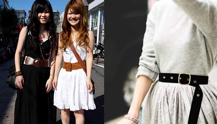 fashion tips,fashion tips to wear a belt,trendy belts,belt fashion,tips to purchase a belt,tips to club it with dresses ,बेल्ट, ट्रेंडी बेल्ट्स, फैशन टिप्स