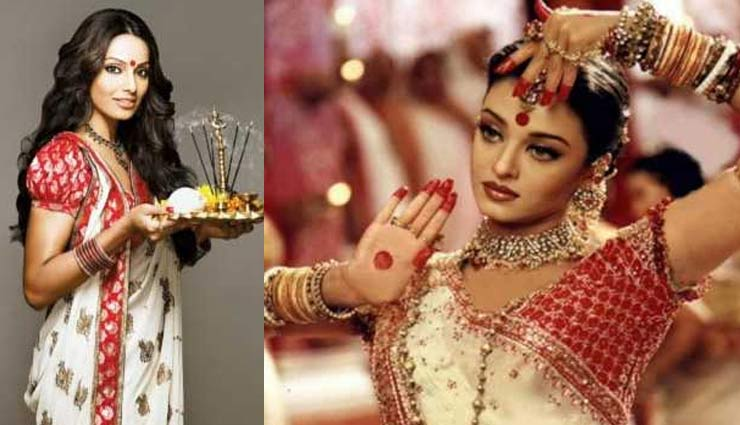 Navratri 2019: पाना चाहती है दुर्गा पूजा पर आकर्षक लुक, बॉलीवुड की बंगाली बालाओं से ले साडी के टिप्स