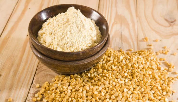 gram flour,besan,beauty tips,beauty ,बेसन, ब्यूटी टिप्स