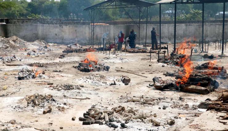 बिहार: बक्सर में 10 दिन में जलीं 789 लाशें,  रिपोर्ट में दर्ज हुई सिर्फ 6