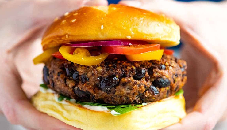 black bean burger,black bean burger recipe,varieties of burgers,hunger struck,food,easy recipes