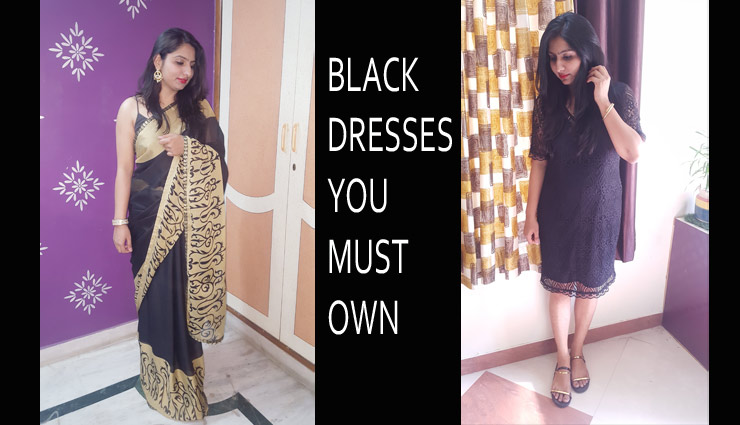 VIDEO- 5 Types of Black Dresses Every Girl Must Own