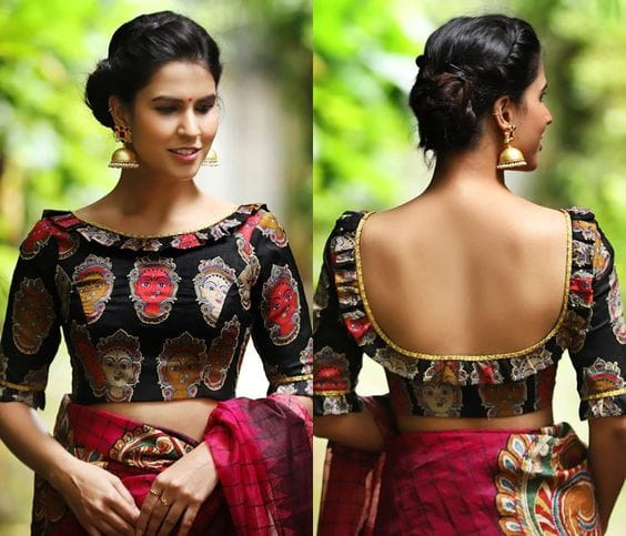 boat neck blouse designs,fashion tips,wedding fashion tips,fashion trends