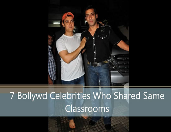 VIDEO - 7 Bollywood Celebrities Who Shared Same Classrooms