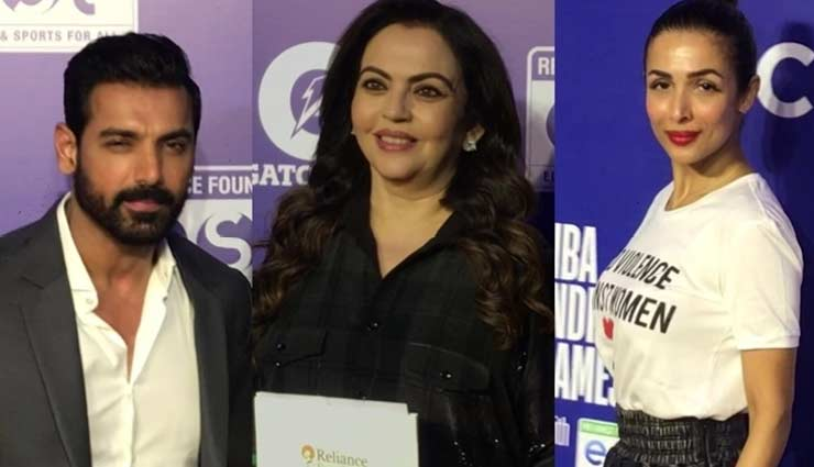 PICS- Bollywood Celebrities Came Together For NBA India Games Red Carpet