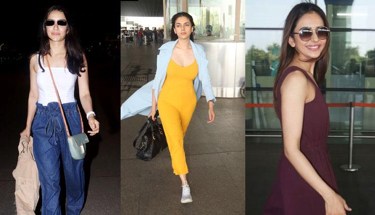 मुम्बई एयरपोर्ट पर कुछ यूं नजर आईं बॉलीवुड सुन्दरियाँ, नजर नहीं हटा सके कैमरामैन