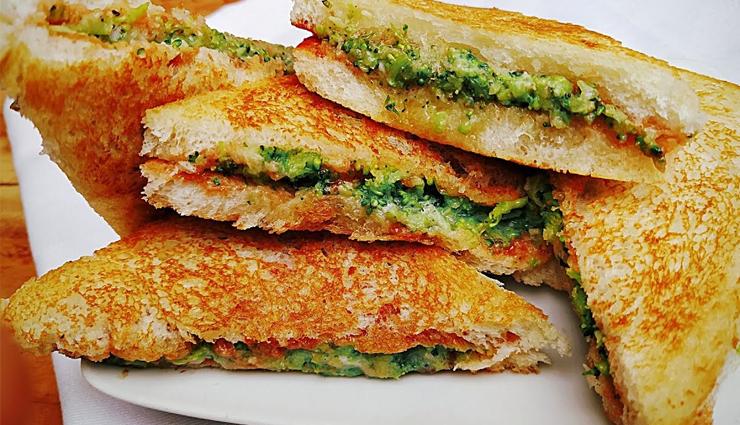 Recipe- Crispy and Spicy Broccoli Masala Toast