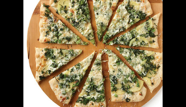 recipe,salad recipe,broccoli rabe salad,potato pizza