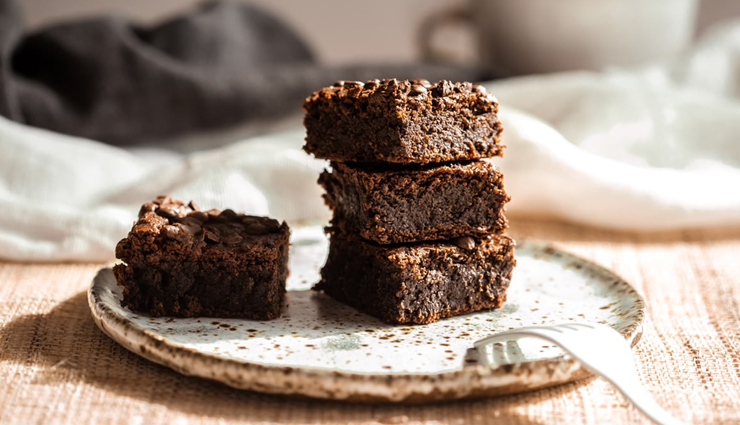 homemade chickpea flour brownies,brownies recipe,eggless brownies recipe