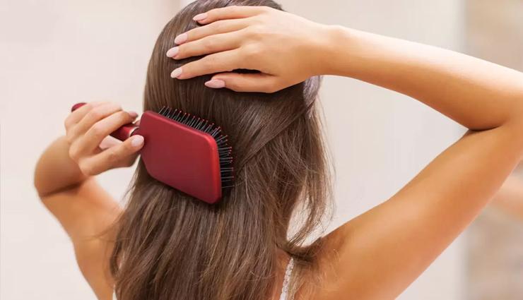 brushing your hair,hair brushing,reason why brushing your hair,hair  care tips,hair beauty,beauty,beauty tips