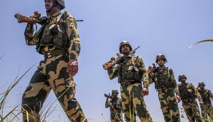 श्रीगंगानगर : भारत-पाकिस्तान बॉर्डर पर बीएसएफ की कारवाई, घुसपैठिए को फायरिंग में किया ढेर