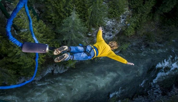 tourist places,indian tourist places,bungee jumping places ,पर्यटन स्थल, भारतीय पर्यटन स्थल, बंजी जंपिंग की जगहें