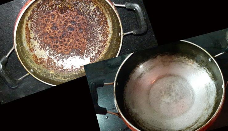 जले हुए बर्तनों की सफाई बनती है बड़ी समस्या, आसान बनाने के लिए ले इन घरेलू उपायों की मदद