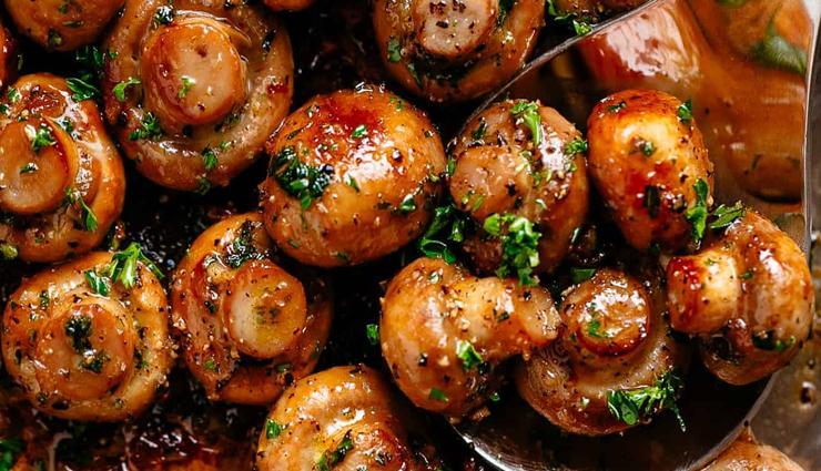 Recipe- Totally Irrestible Butter Garlic Mushroom