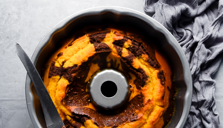 Recipe- Delicious Choco Orange Swirl Cake