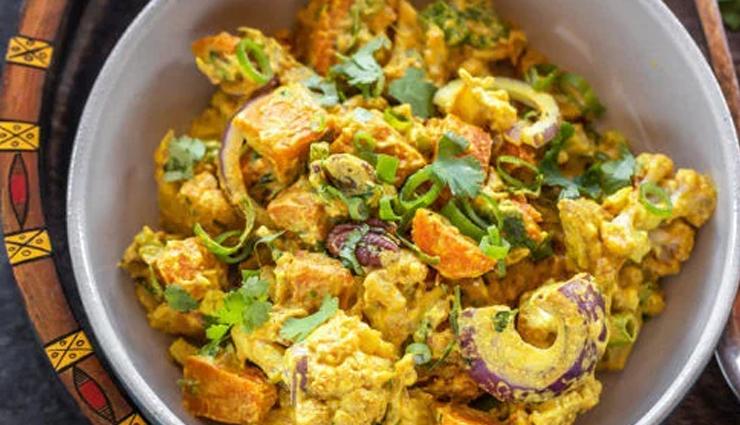 cauliflower cashew mango curry,mango recipe,curry recipe,summer recipe