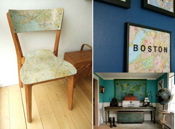 household tips,decoration tips,map,decorate home with map ,मैप,मैप से सजाये घर,मैप से घर सजाने के टिप्स