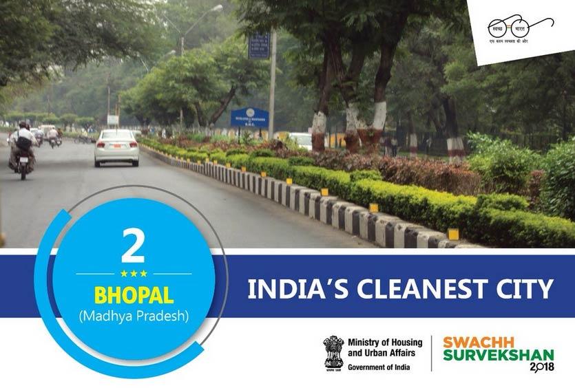 indore,bhopal,chandigarh,cleanest city,india ,भोपाल,इंदौर,चंडीगढ़