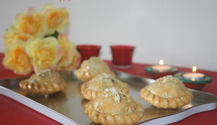 chandrakala recipe,recipe,recipe in hindi,special recipe ,चंद्रकला रेसिपी, रेसिपी, रेसिपी हिंदी में, स्पेशल रेसिपी