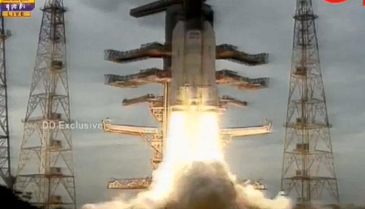 chandrayaan 2,chandrayaan 2 launch,isro,chandrayaan 2 launch video,moon mission,satellite,chandrayaan 2 news,news,news in hindi ,चंद्रयान-2,चंद्रयान-2 लांच,चंद्रयान-2 लांच वीडियो