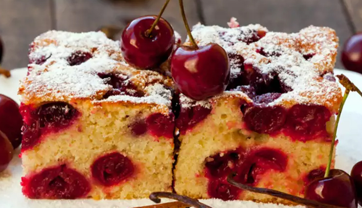 Recipe- Mouthwatering Cherry Cake